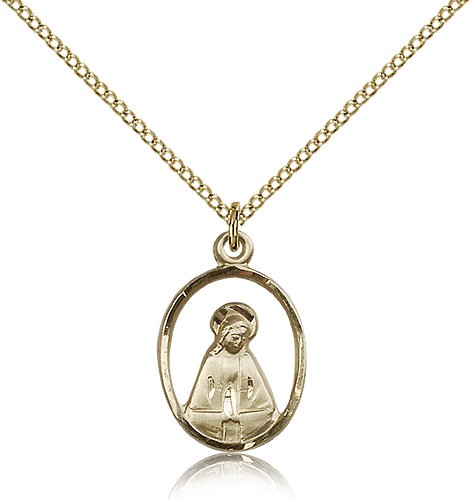 Madonna Medal - 14KT Gold Filled