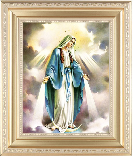Our Lady of Grace Framed Print - #138 Frame