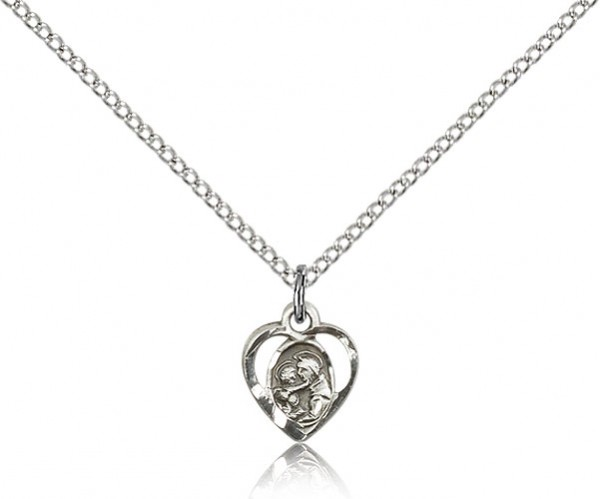 Women's St. Anthony of Padua Medal - Sterling Silver