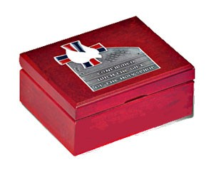 Confirmed with the Holy Spirit Keepsake Box - Red