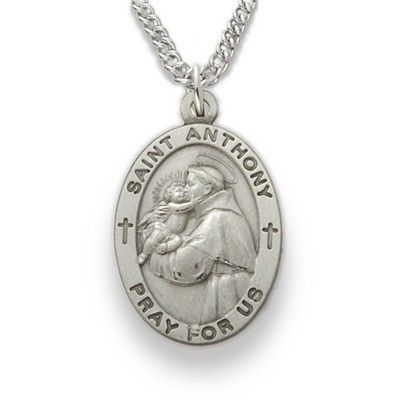 St. Anthony Medal   - Silver
