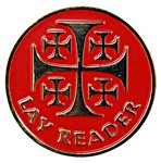 Lay Reader Pin - Red