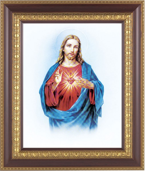 Sacred Heart of Jesus Framed Print - #126 Frame