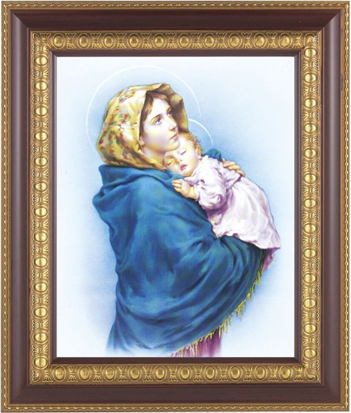 Madonna and Child Framed Print - #126 Frame