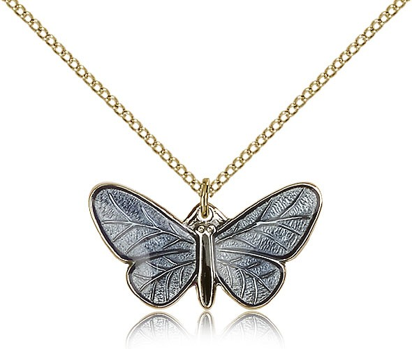 Butterfly Resurrection Pendant - 14KT Gold Filled