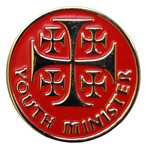 Youth Minister Lapel Pin - Red