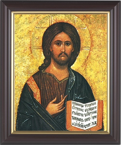 Christ the Teacher Framed Print - #133 Frame