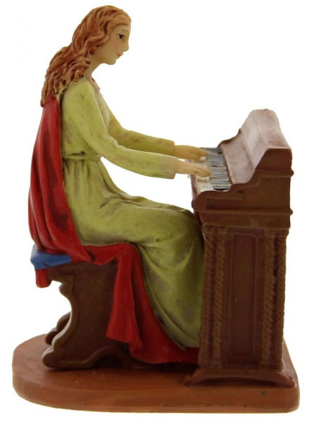 "St. Cecilia Statue 3.5"" - Multi-Color"