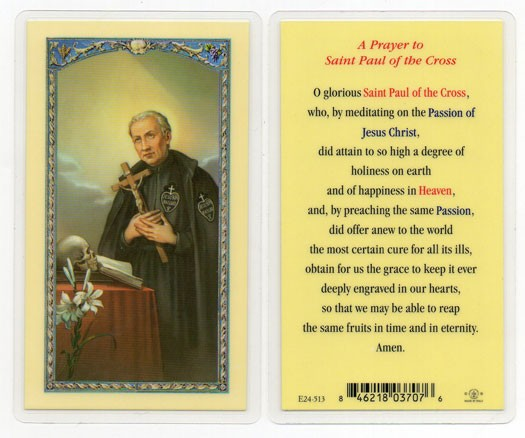 A Prayer To St. Paul Laminated Prayer Cards 25 Pack - Full Color