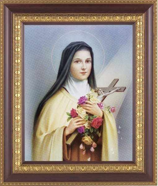 St. Therese Framed Print - #126 Frame