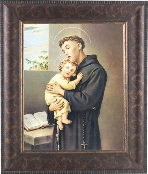 St. Anthony Framed Print - #124 Frame