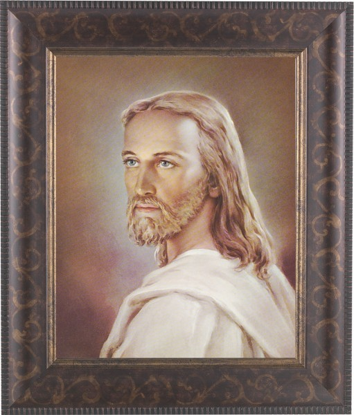 Portrait of Jesus Framed Print - #124 Frame