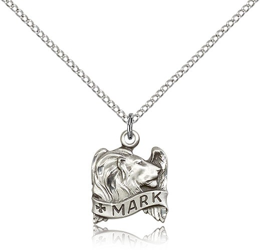 Women's Winged Lion of St. Mark Medal - Sterling Silver