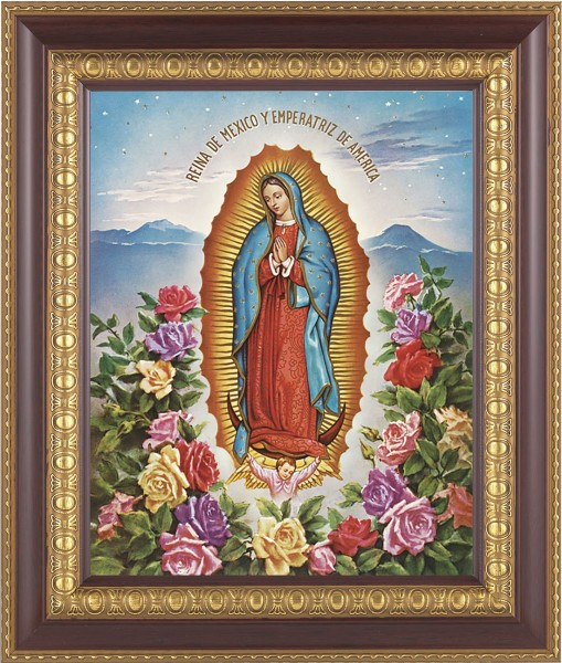 Our Lady of Guadalupe Framed Print - #126 Frame