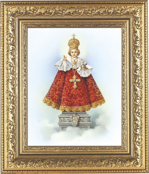 Infant of Prague Framed Print - #115 Frame