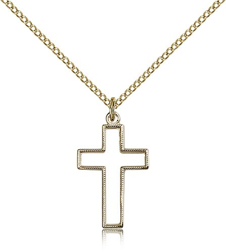 Cross Pendant - 14KT Gold Filled