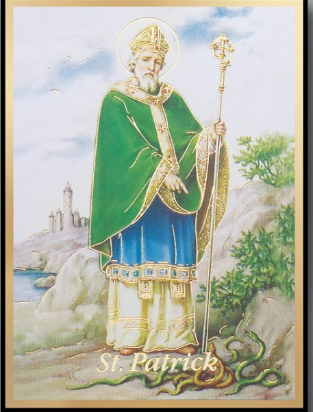 St. Patrick Magnetic Frame 4 Per Pack - Full Color