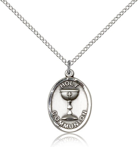Holy Communion Pendant - Sterling Silver