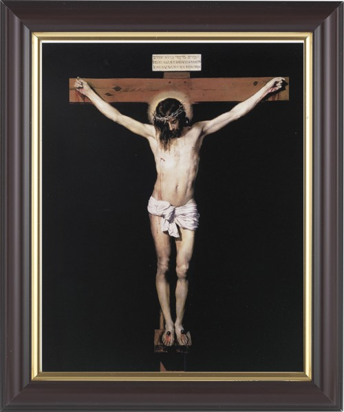 Jesus on the Cross Framed Print - #133 Frame
