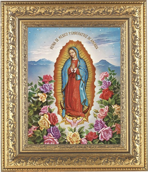 Our Lady of Guadalupe Framed Print - #115 Frame