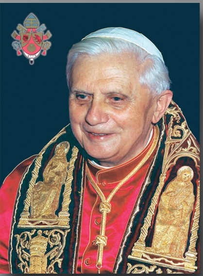 Pope Benedict XVI Large Poster - Full Color
