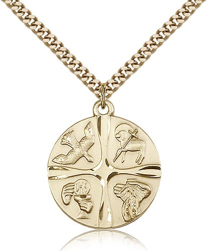 Sacrament Pendant - 14KT Gold Filled