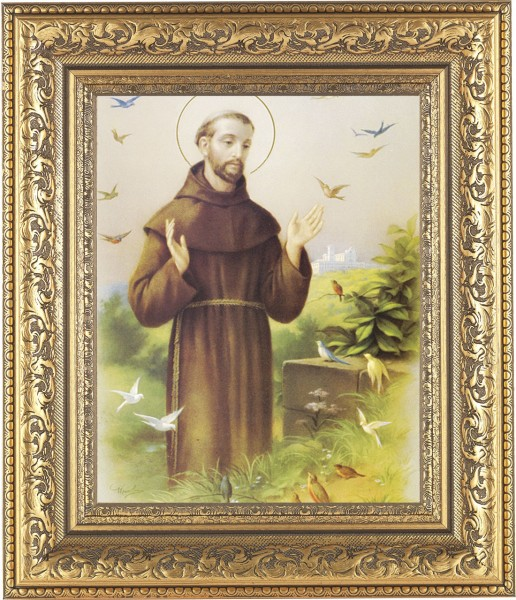 St. Francis of Assisi Framed Print - #115 Frame