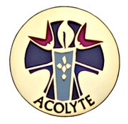 Acolyte Lapel Pin - Gold Tone