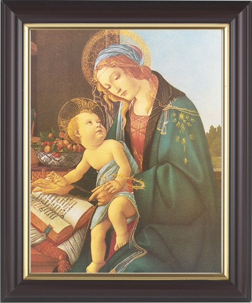 Madonna and Child renaissance Framed Print - #133 Frame