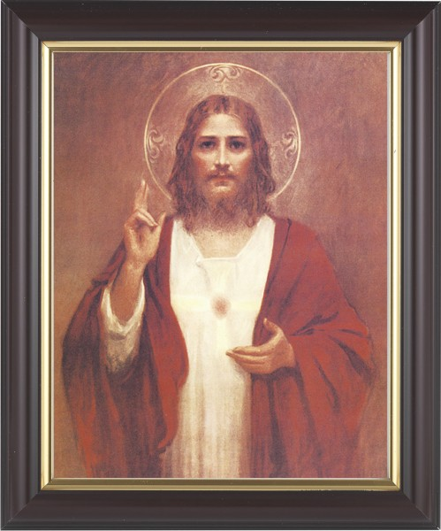Sacred Heart of Jesus Framed Print - #133 Frame