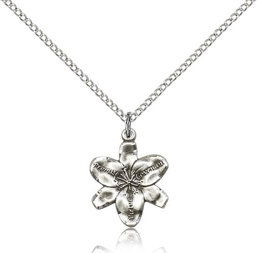Chastity Promise Medal - Sterling Silver