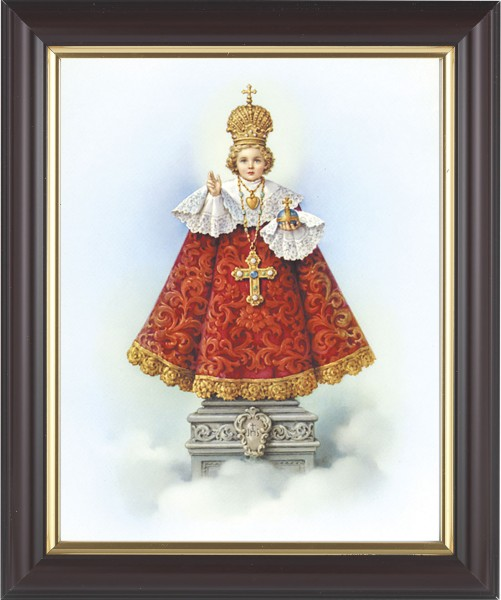 Infant of Prague Framed Print - #133 Frame