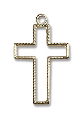 Cross Pendant - 14K Solid Gold