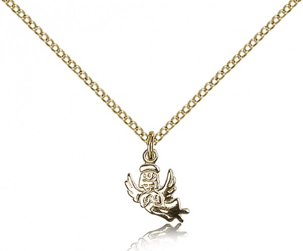 Baby Angel Medal - 14KT Gold Filled