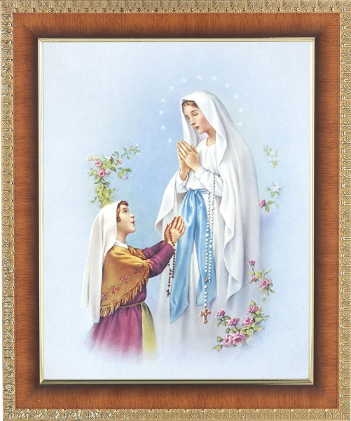 Our Lady of Fatima Framed Print - #122 Frame