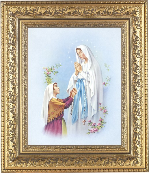 Our Lady of Fatima Framed Print - #115 Frame