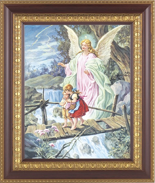 Guardian Angel Framed Print - #126 Frame