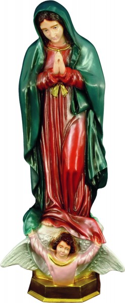 Plastic Our Lady of Guadalupe Statue - 24 - Full Color