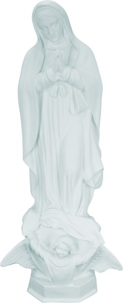 Plastic Our Lady of Guadalupe Statue - 24 - White