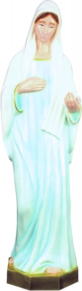 Plastic Our Lady of Medjugorje Statue - 24 inch - Full Color