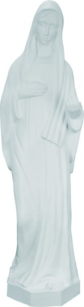 Plastic Our Lady of Medjugorje Statue - 24 inch - White