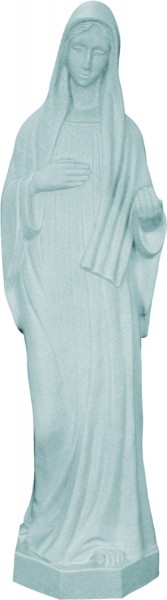 Plastic Our Lady of Medjugorje Statue - 24 inch - Granite