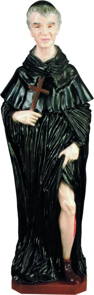Plastic Saint Peregrine Statue - 24 inch - Full Color