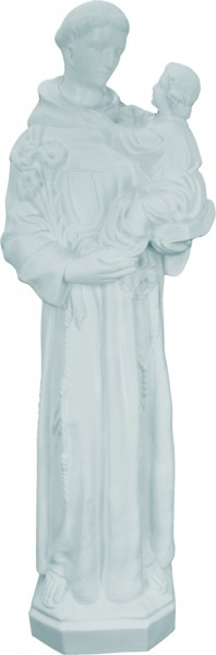 Plastic St. Anthony & Child Statue - 24 inch - White