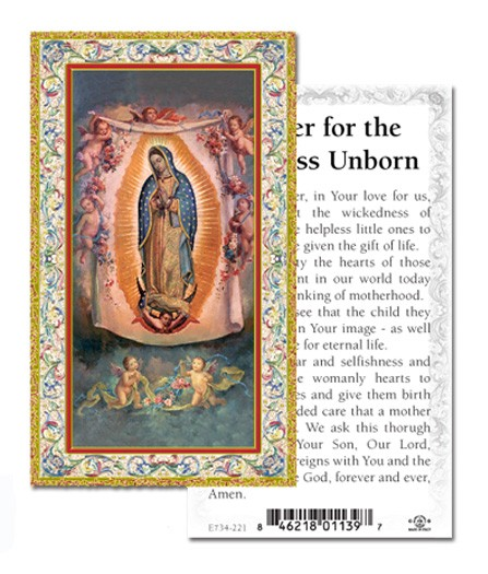 Prayer For The Helpless Unborn Prayer Cards 100 Pack - Multi-Color