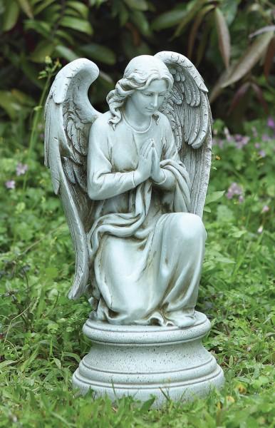 Beau Praying Angel Garden Statue 17.75u0026quot; ...