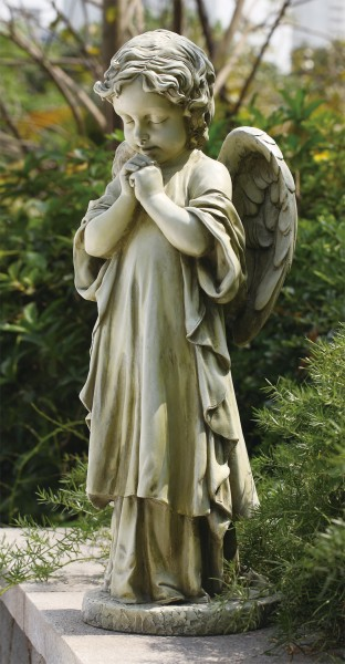 Praying Garden Angel Statue   26u0026quot ...