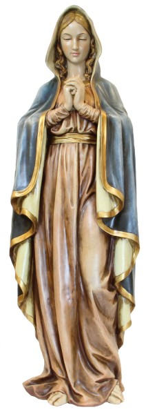 "Praying Madonna Statue 37.5"" - Multi-Color"