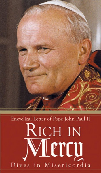 rich in mercy dives in misericordia encyclical letter of pope john paul ii
