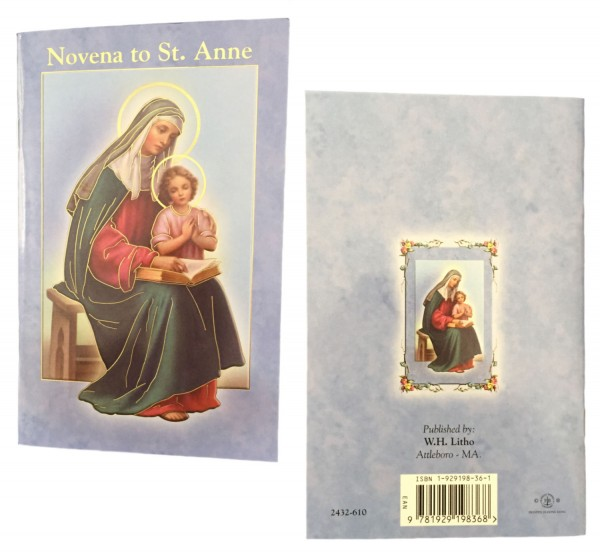 Saint Anne Novena Prayer Pamphlet - Pack of 10 - Full Color